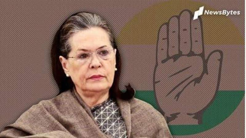 Sonia remains Congress chief; election of successor in 6 months