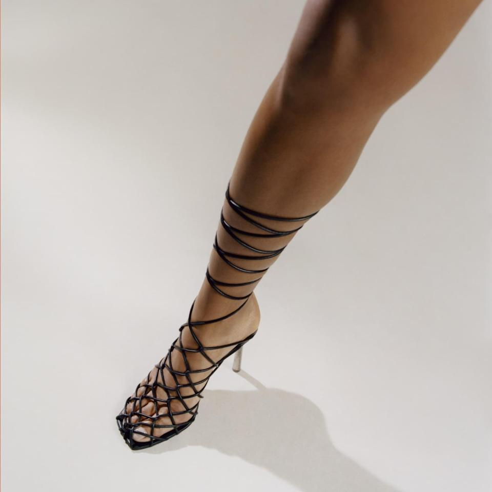 <p><span>Fenty Caged In Sandals 105</span> ($740)</p>