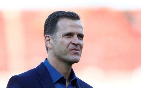 FILE PHOTO - Football Soccer - Germany v San Marino - 2018 World Cup Qualifying European Zone - Group C - Stadium Nuernberg, Nuremberg - 10/06/17 - Germany's team manager Oliver Bierhoff before the match. Reuters/Michaela Rehle