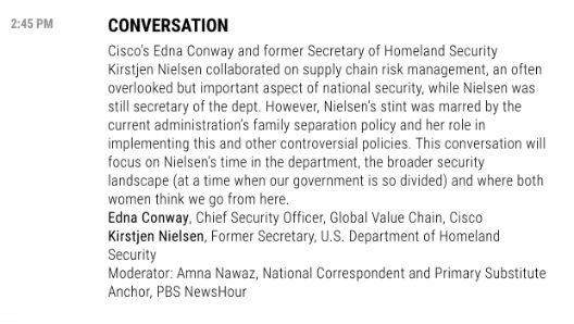 """Fortune's Most Powerful Women Summit was originally going to have Nielsen speak about """"supply chain risk management."""" (Photo: HuffPost)"""