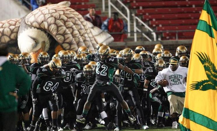 The Desoto football team continues to move it's way toward the top of the PCS rankings — Facebook