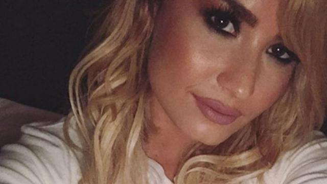 Demi Lovato Ditches Blonde Locks, Goes 'Back to Brown'