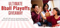 """<b>Ultimate couch potato party</b>. The blog site She Knows knows to make it simple: Enter your email through March 31 for a crack at $1,000 in its <a href=""""http://www.sheknows.com/food-and-recipes/giveaway/ultimate-march-madness-giveaway"""" rel=""""nofollow noopener"""" target=""""_blank"""" data-ylk=""""slk:Ultimate Bball Playoffs Giveaway."""" class=""""link rapid-noclick-resp"""">Ultimate Bball Playoffs Giveaway.</a>"""