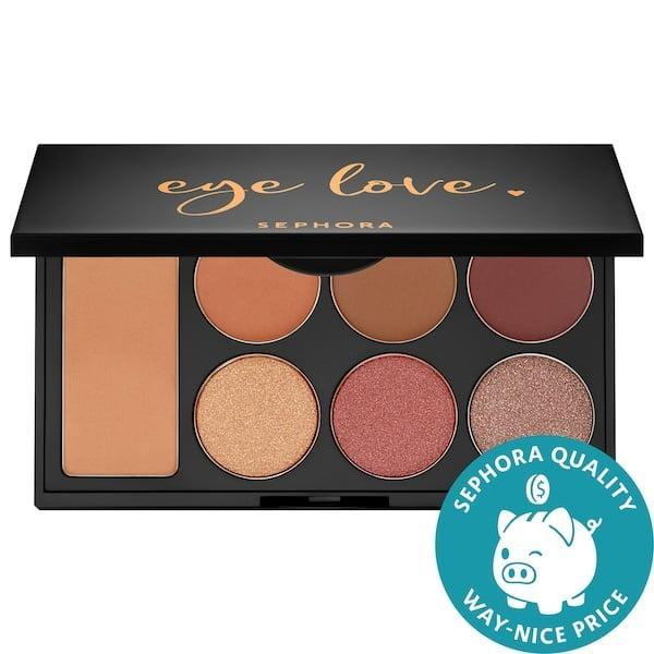 <p>There's a version of this <span>Sephora Collection Eye Love Eyeshadow Palette</span> ($14) for light, medium, and deep skin tones and ones for warm and cool undertones as well. </p>