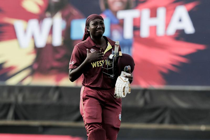 Stafanie Taylor's all-round exploits helped West Indies avoid Thailand scare