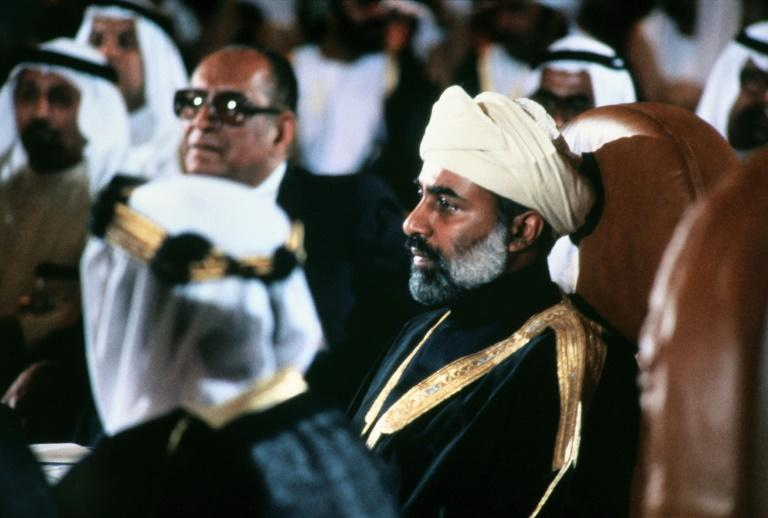 (FILES) In this file photo taken on May 31, 1981 Oman's Sultan Qaboos bin Said (pictured 1981) died January died January 10, 2020 at the age of 79