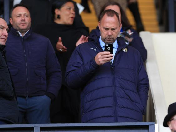 Alan Hardy put the club up for sale (PA)