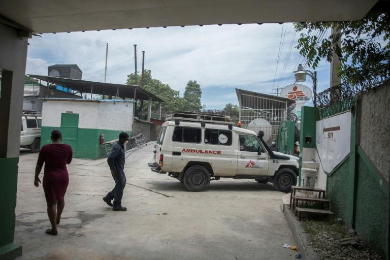 Even in times of recent political unrest, MSF's ambulances have been able to get past the barricades to transport patients to other facilities for surgery