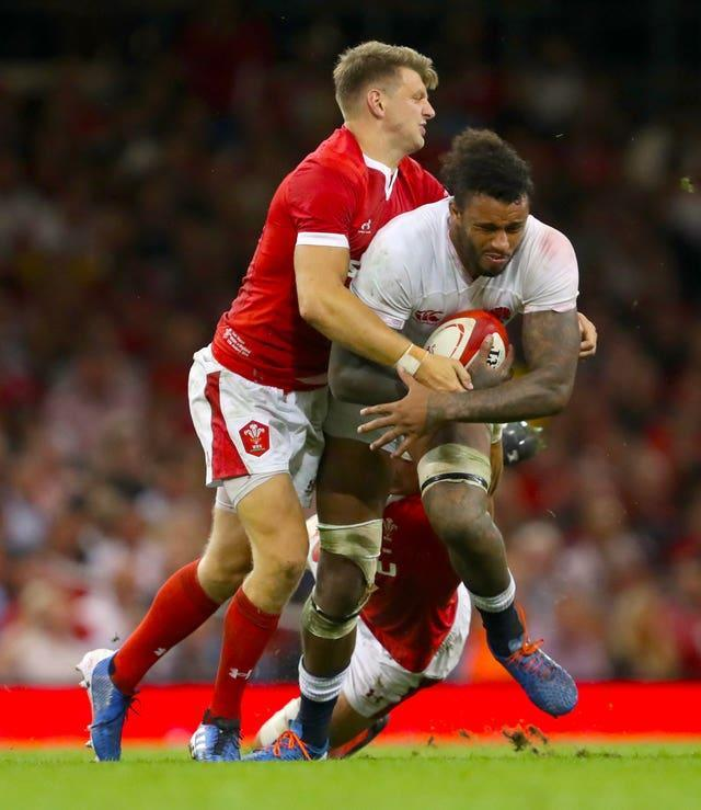 Courtney Lawes and Dan Biggar will tangle in Cardiff on Saturday