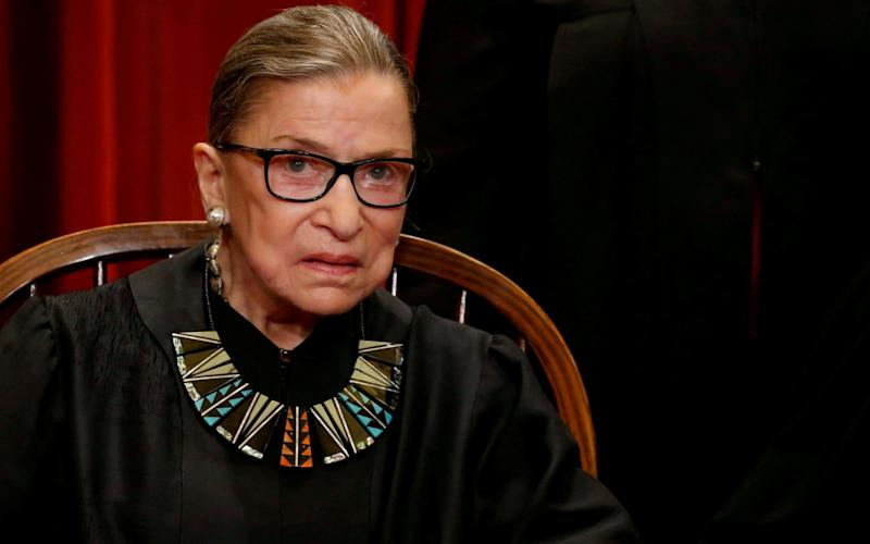 The extent of Supreme Court Justice Ruth Bader Ginsburg's injuries is not known - REUTERS