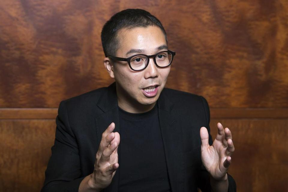 Yusuke Umeda, co-chief executive officer of Uzabase Inc., speaks during an interview in Tokyo, Japan, on Wednesday, Sept. 19, 2018. Umeda, the 37-year-old co-founder of Uzabase, is considering moving his firms headquarters to the U.S. just months after agreeing to pay as much as $110 million for New York-based news publication Quartz. Photographer: Tomohiro Ohsumi/Bloomberg via Getty Images