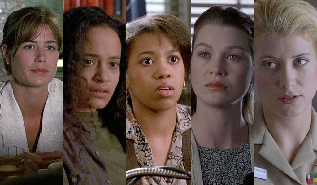 "<b>From the Mean Streets to Scrubs</b><br>Maura Tierney '91 -- ""Aria"" (L&O)<br>Judy Reyes '92 -- ""Sisters of Mercy"" (L&O)<br>Chandra Wilson '92 -- ""Cradle to Grave"" (L&O)<br>Ellen Pompeo '96 -- ""Savior"" (L&O)<br>Kate Walsh '97 -- ""Navy Blues"" (L&O)<br><br>Save lives or solve crimes? Those are the two enduring trends of American television. Participating in both are ""Grey's Anatomy"" ladies Ellen Pompeo, Kate Walsh, and Chandra Wilson, as well as ""Scrubs"" alum Judy Reyes (who had the bonus of working with Will Macy on the same episode). Maura Tierney also stopped by ""L&O"" on the way to ""E.R."" in ""Aria,"" an episode notable for being Paul Sorvino's first episode as Det. Paul Cerreto, the second of three partners for Det. Mike Logan. <br><br><em>Who else made it big after their ""L&O"" appearance? Let us know in the comments below.</em>"