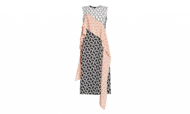"<p>Dress, $479, <a href=""https://www.stylebop.com/en-us/women/printed-silk-dress-267301.html"" rel=""nofollow noopener"" target=""_blank"" data-ylk=""slk:stylebop.com"" class=""link rapid-noclick-resp"">stylebop.com</a> </p>"