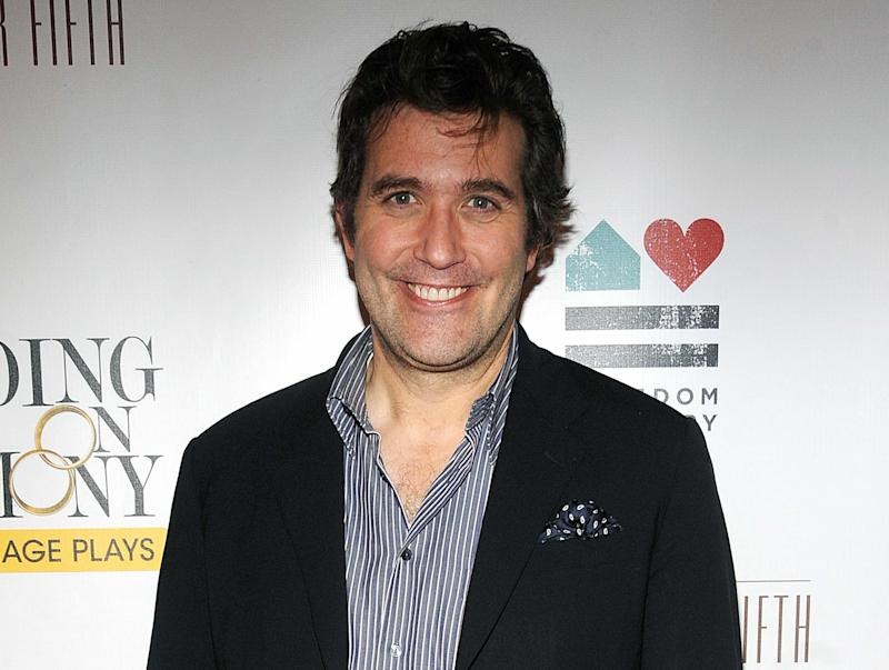 """FILE - This Nov. 13, 2011 file photo shows actor Craig Bierko at the opening night of """"Standing on Ceremony : The Gay Marriage Plays"""" in New York. Bierko will replace Bertie Carvel who plays the sinister Miss Trunchbull, in """"Matlida the Musical."""" (AP Photo/Brad Barket, File)"""