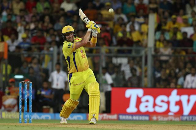 <p>Shane Watson is the 1st cricketer to smash a hundred in the IPL final while chasing </p>