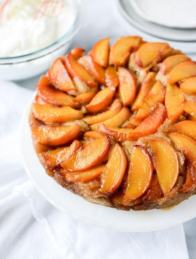"""<p>Move over, peach cobbler.</p><p>Get the recipe from <a href=""""http://www.howsweeteats.com/2015/08/cinnamon-sugar-bourbon-peach-upside-down-cake/"""" rel=""""nofollow noopener"""" target=""""_blank"""" data-ylk=""""slk:How Sweet It Is"""" class=""""link rapid-noclick-resp"""">How Sweet It Is</a>.</p>"""