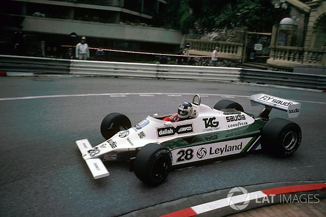 "1980: Williams-Cosworth FW07B <span class=""copyright"">Sutton Motorsport Images</span>"