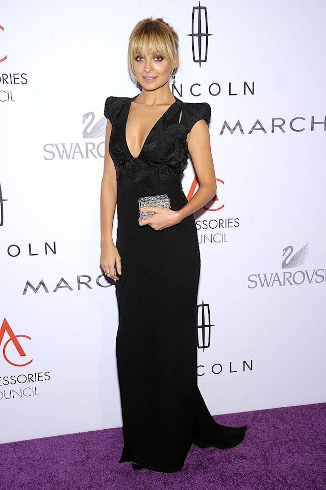 Nicole Richie, 30, was one of the designers honored at The Accessory Council's 15th annual ACE Awards at Cipriani 42nd Street in NYC on Monday. The former reality star, who donned an Antonio Berardi dress, was named Influencer of the Year for her work with accoutrements in her House of Harlow 1960 line. (11/7/2011)