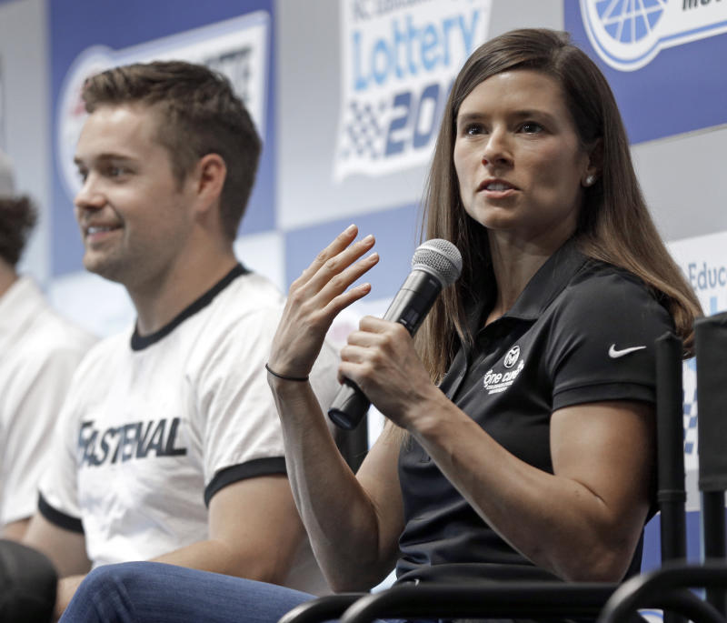 Danica Patrick splits from boyfriend Ricky Stenhouse Jr