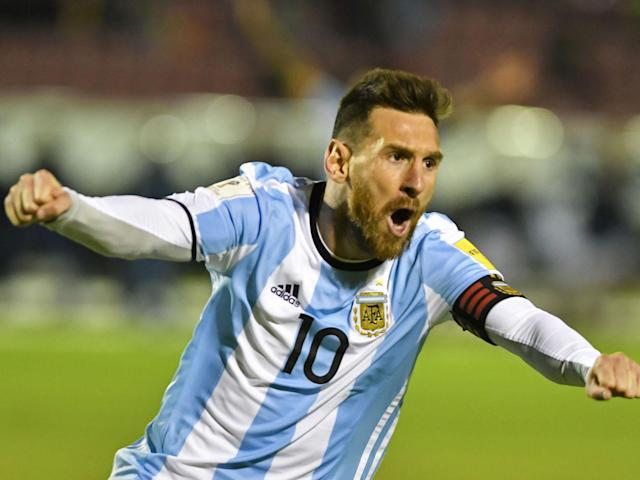 """<p>Twenty years ago, Lionel Messi, then a 10-year-old playing for a youth team at Newell's Old Boys, headed into rural Santa Fe for a game against Pujato. These were always difficult, physical matches, and Messi took a kicking. Pujato scored twice early on and, as Newell's defender Gerardo Grighini recalls, Newell's was still 2-0 down when, with """"eight or nine minutes to go"""" Messi """"got the face on,"""" It was as though Messi had said to himself, """"F*** it, I'll sort it!"""" and he scored three goals in those closing minutes to win the game.<br>Messi has been getting the face on a lot recently. With Neymar gone, Ousmane Dembele injured and general chaos at the Camp Nou, it feels as though Barcelona's perfect start to the season has been the result of him, fired by the """"<em>bronca</em>"""" that used to motivate Diego Maradona, dragging Barcelona forward almost single-handed. And then, in Quito on Tuesday night, with Argentina 1-0 down after some 40 seconds and facing the possibility of missing a World Cup for the first time since 1970, <a href=""""https://www.si.com/soccer/2017/10/10/south-america-world-cup-qualifying-messi-argentina-peru-uruguay-colombia-chile"""" rel=""""nofollow noopener"""" target=""""_blank"""" data-ylk=""""slk:he scored a hat trick"""" class=""""link rapid-noclick-resp"""">he scored a hat trick</a>.<br><em>""""F*** it, I'll sort it!""""</em><br>""""<em>Bronca</em>"""" is a favorite world of Maradona. It's a term from lunfardo, the street slang of Buenos Aires that inverts the syllables of words. In this case, """"<em>cabron</em>""""–bastard–becomes a noun meaning the energy derived from anger or when provoked. Listen to Maradona and it comes to seem that every act of greatness he ever performed on a pitch was motivated by <em>bronca</em>–but then Maradona, a far more volatile, less consistent genius than Messi, was forever making points with his brilliance, as though no transcendent act could ever be wasted on something as straightforward as just winning a game or professionalism.<br>Messi's excellence"""