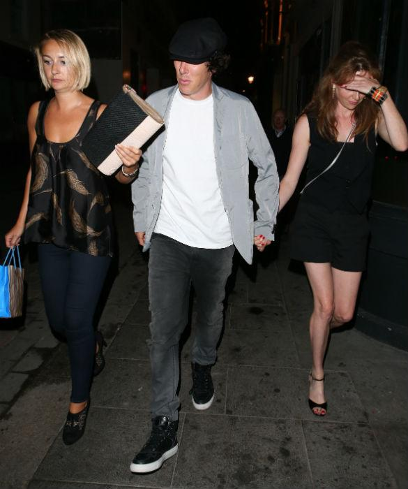 Benedict Cumberbatch Goes Public With New Romance On Night Out? Couple Snapped Holding Hands (PHOTOS)