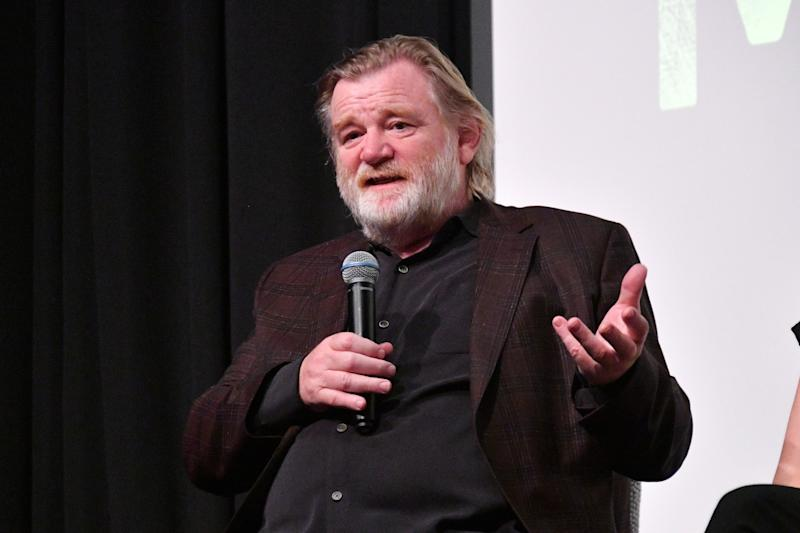 Brendan Gleeson participates in a panel discussion during a first look screening of 'Mr. Mercedes' S2 on August 8, 2018. (Photo by Dia Dipasupil/Getty Images for Entertainment Weekly)