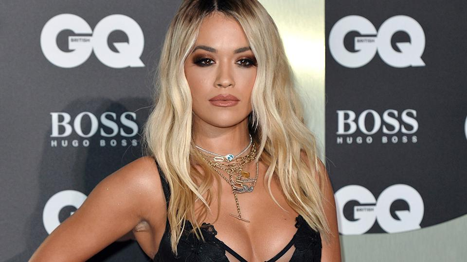 Rita Ora, pictured here at the GQ Men Of The Year Awards in 2019.