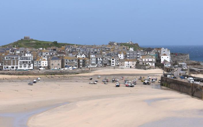 St Ives is one of the most popular tourist spots in Cornwall, which is using QR codes to raise donations - Jay Williams/COPYRIGHT JAY WILLIAMS