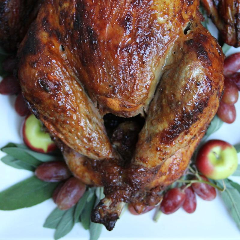Go Bold With This Bourbon-Glazed Thanksgiving Turkey