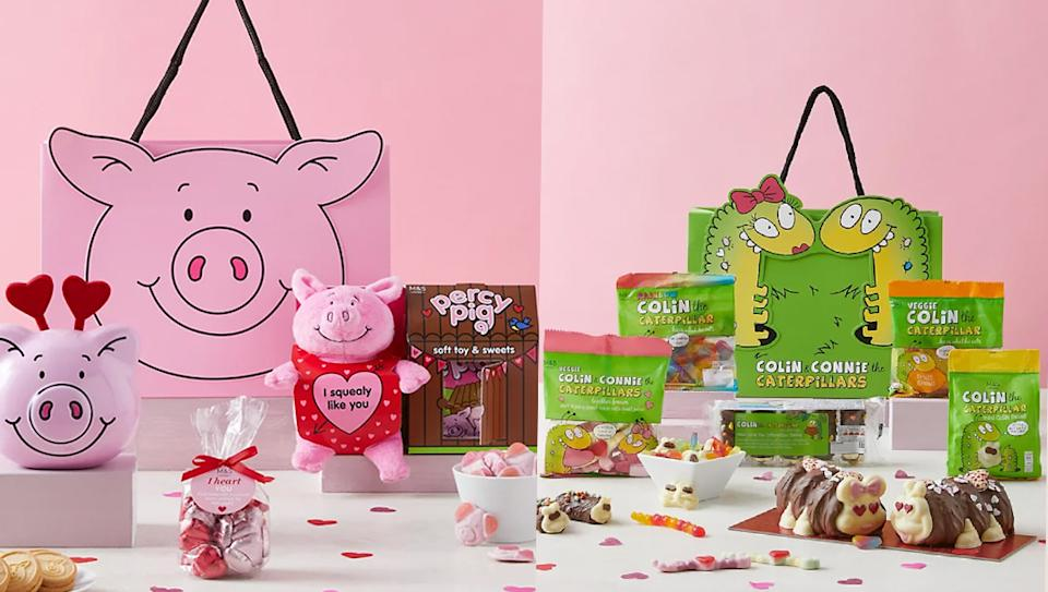 Marks and Spencer launches new gift bags and bundles ahead of Valentine's Day. (Marks and Spencer)