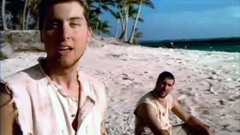 "<p>As part of Chili's 2002 promotion of *NYSNC's ""Celebrity Tour,"" the band created 2 renditions of the ""Baby Backs Ribs"" jingle. This commercial—in which the group sings a capella on a stranded island about the fast-casual chain—is a particular gem of early-2000s pop culture.</p>"