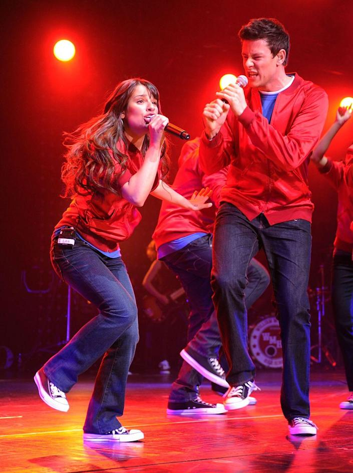 """<p>The cast's touring proved successful, as they sold out in almost every major city, <a href=""""https://www.eonline.com/uk/news/1042334/20-glee-secrets-revealed-on-set-romances-devastating-tragedy-and-unbreakable-bonds"""" rel=""""nofollow noopener"""" target=""""_blank"""" data-ylk=""""slk:grossed more than $40 million"""" class=""""link rapid-noclick-resp"""">grossed more than $40 million</a>, and released<em> Glee: The 3D Concert Movie </em>as a result.</p>"""