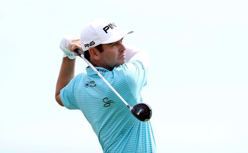 Oosthuizen on course for back-to-back SA Open wins
