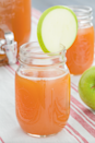 """<p>Not all Halloween drinks have to be dripping blood and crawling with gummy worms. You can simply mix two fall flavors such as salted caramel and apple to create a deliciously sweet drink.</p><p><em>Get the recipe from <a href=""""https://www.delish.com/cooking/recipe-ideas/recipes/a44176/spiked-salted-caramel-apple-cider-recipe/"""" rel=""""nofollow noopener"""" target=""""_blank"""" data-ylk=""""slk:Delish"""" class=""""link rapid-noclick-resp"""">Delish</a>.</em></p>"""