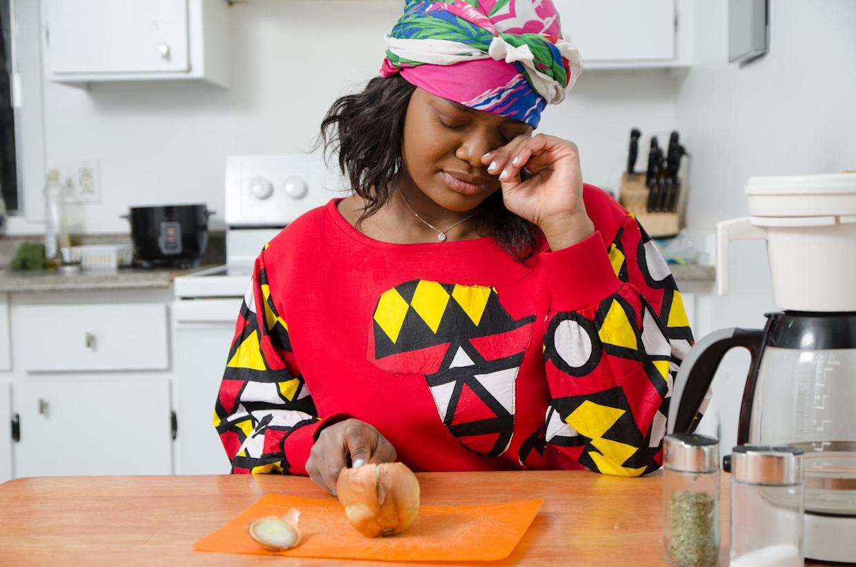 It is the acid in onions that makes us cry while chopping them. (Getty Images)