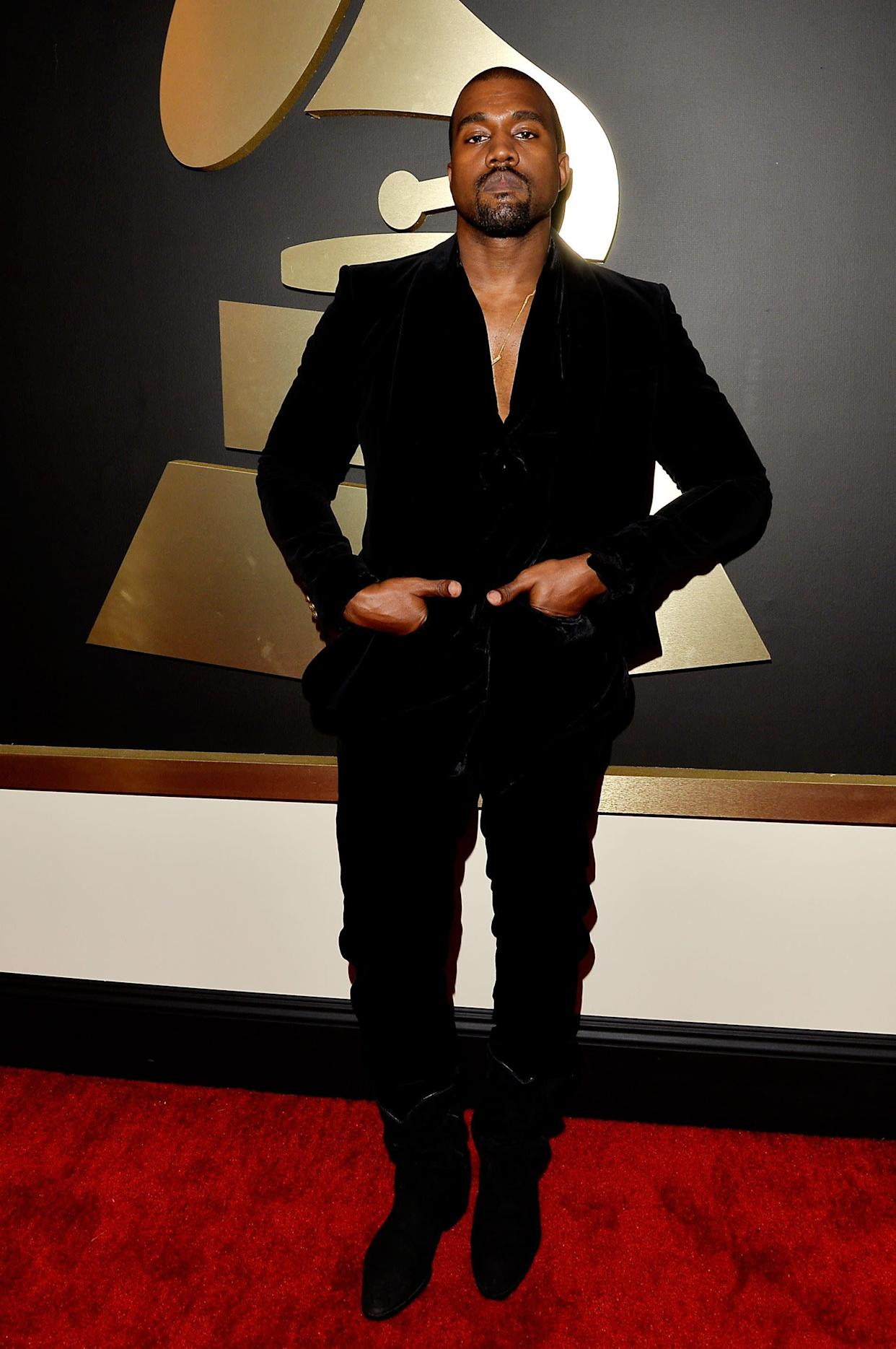 At the 57th Annual GRAMMY Awards on February 8 in Los Angeles.