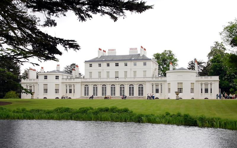 WINDSOR, UNITED KINGDOM - MAY 17: (EMBARGOED FOR PUBLICATION IN UK NEWSPAPERS UNTIL 24 HOURS AFTER CREATE DATE AND TIME) A general view of Frogmore House in Home Park, Windsor Castle on May 17, 2006 in Windsor, England. Frogmore House was built in 1680-1684 and has been used as a Royal residence since 1792 when it was purchased by Queen Charlotte. (Photo by Max Mumby/Indigo/Getty Images)