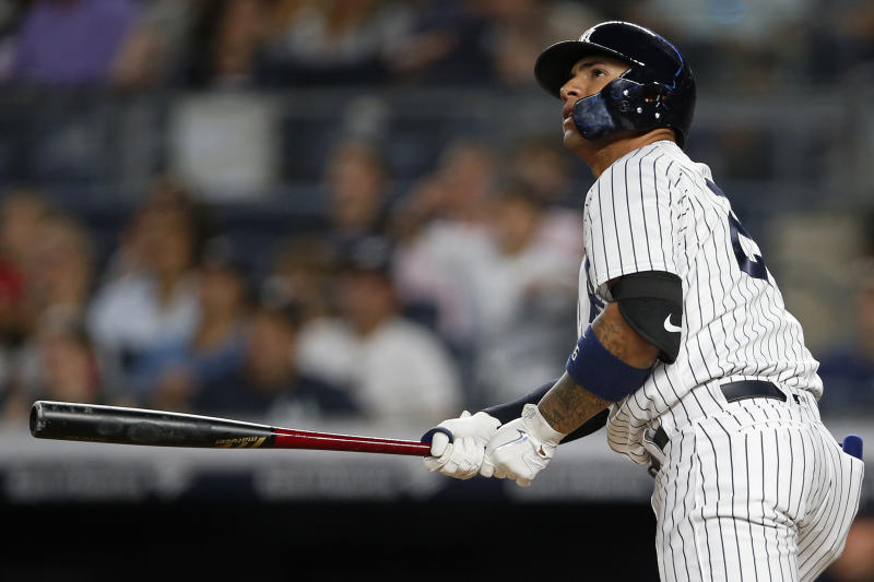 Yankees GM Brian Cashman knows better than to trade rookie sensation Gleyber Torres. (AP)
