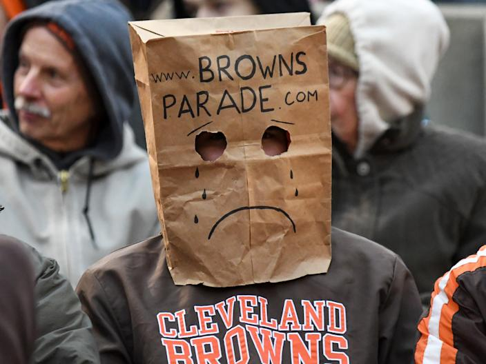 Though marijuana would likely help struggling Bengals and Browns fans out, don't expect it to become an official condition for medical use anytime soon.