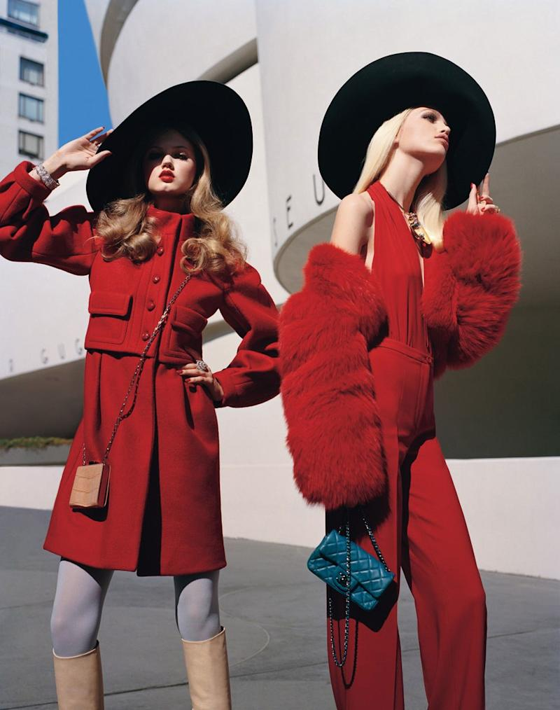 """Take it to the Streets. """"Scene on the Street"""" photographed by Alasdair McLellan, styled by Edward Enninful; W Magazine August 2011."""