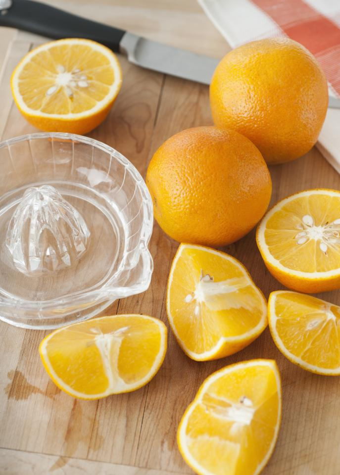 """<p>If you chug a glass of orange juice every time you start sniffling, you may be onto something. Though studies show that consuming vitamin C can't actually <i>prevent</i> colds, loading up on the nutrient may help slightly <a href=""""http://summaries.cochrane.org/CD000980/vitamin-c-for-preventing-and-treating-the-common-cold"""" target=""""_blank"""">shorten the length of time you're sick and reduce the severity of your symptoms</a>. But despite their reputation for being loaded with vitamin C, the 69.7 mg that a medium orange provides is actually less than many other common fruits and veggies. To pack the ultimate vitamin C punch, fill up on these 12 superfoods.</p> <p><strong>RELATED: <a href=""""https://www.health.com/health/gallery/0,,20660118,00.html"""">The Best Foods for Every Vitamin and Mineral</a></strong></p> <p> <b>Watch the video: <a href=""""https://www.health.com/health/video/0,,20828771,00.html"""">How to Juice an Orange </a></b></p>"""