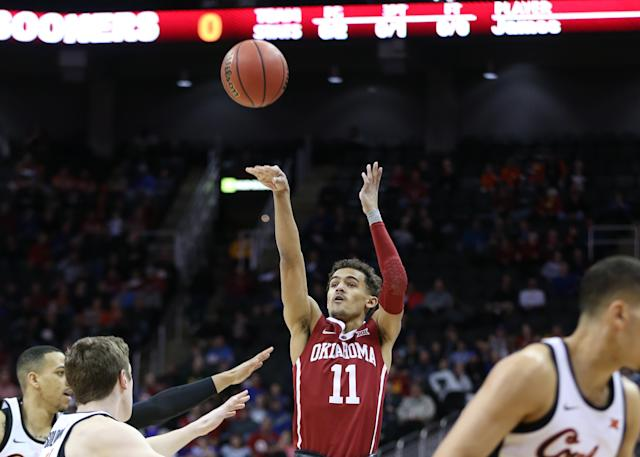 Yahoo Sports NBA Insider Chris Mannix and Yahoo Sports College Basketball Insider Pete Thamel discuss the potential of sharp shooting Oklahoma point guard Trae Young.