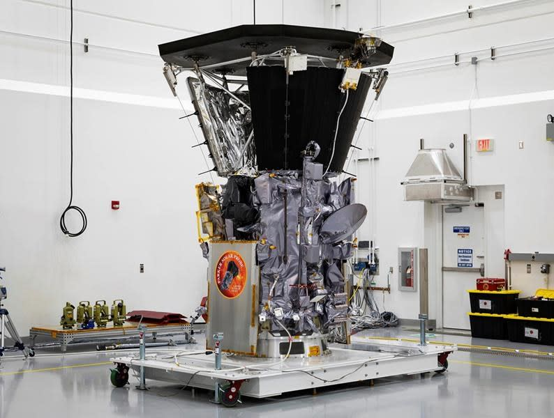 NASA Parker Solar Probe spacecraft sets new record with Sun approach