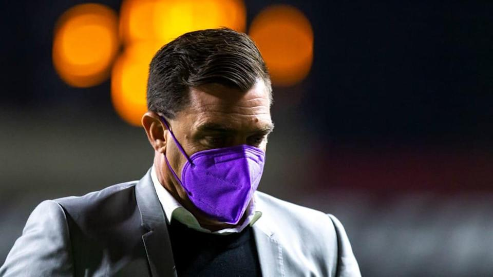 El entrenador Pablo Guede. | Francisco Vega/Getty Images