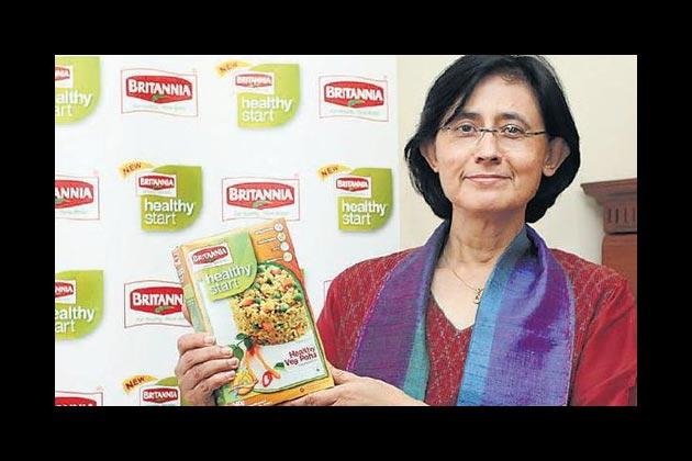 Vinita Bali, 54, Managing Director, Britannia Industries, as much as they do every housewife. They are all key inputs for Britannia's products