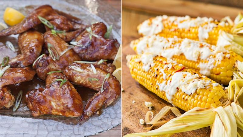 Chef Lorena Garcia shares recipes for spicy chicken wings and grilled street corn