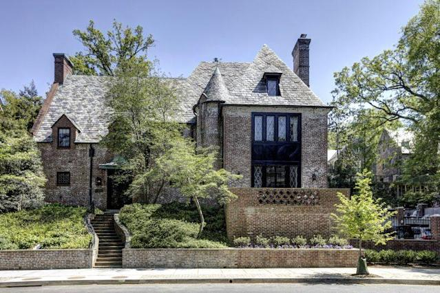 The brick home in the Kalorama neighborhood. (Photo: WFP)