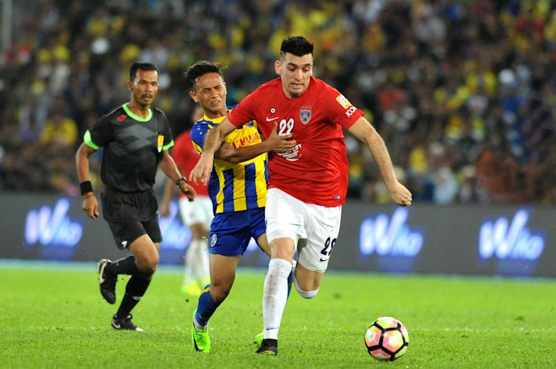 JDT up against Pahang and FA Cup history