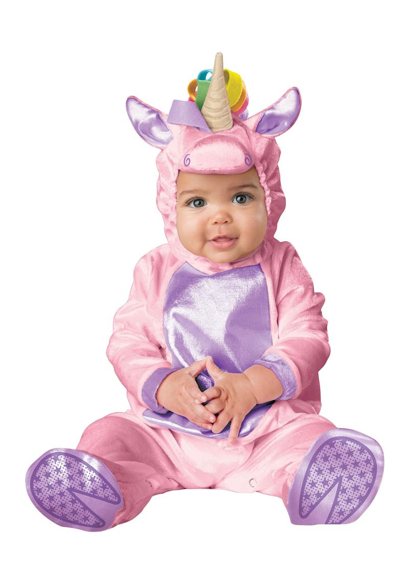 This baby unicorn Halloween costume is the cutest thing who've ever seen. Fact.