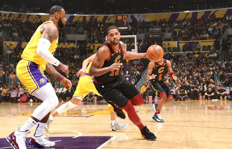 Tristan Thompson | Andrew D. Bernstein/NBAE via Getty Images